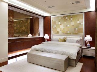 时尚奢华混搭风卧室效果图