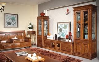 高端复古美式 实木三居设计