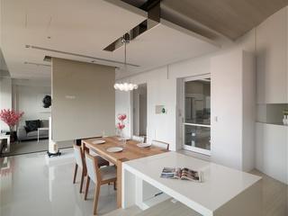 素雅极简公寓式住宅室内设计