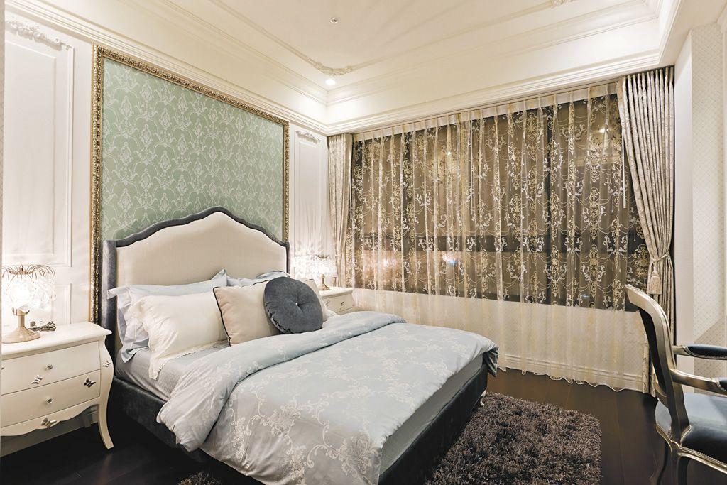 欧式风格豪华卧室设计装修图
