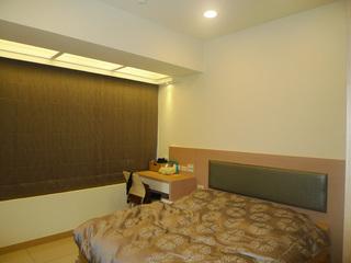 素雅简约风卧室窗帘图片
