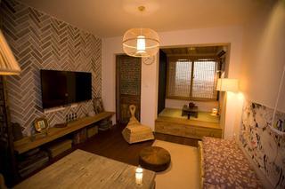 50平中式混搭一居室设计