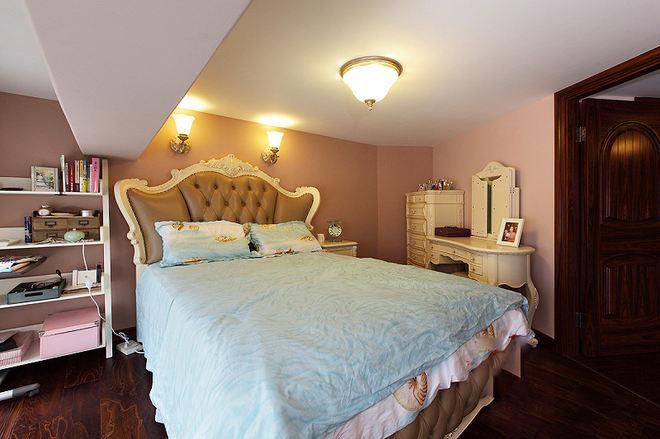 甜美古典卧室 美式家居效果图