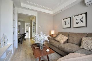 简约美式设计两室两厅装饰图