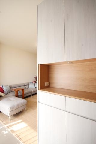 98平温馨现代宜家风 三居美宅设计