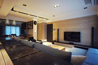 三居打造时尚咖色系现代酒店式家装