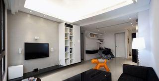 黑白简约现代小户型家装设计