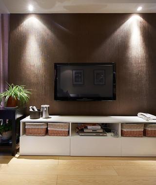 日式家装电视背景墙效果图