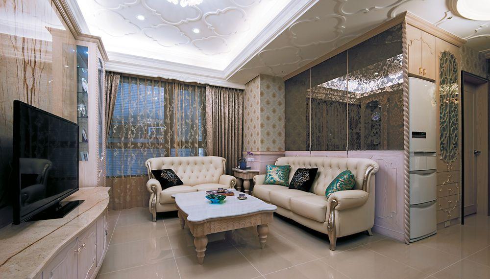 欧式风格客厅装饰大全