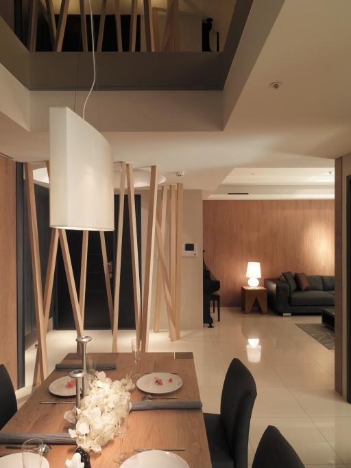 自然北欧风情 客餐两厅效果图