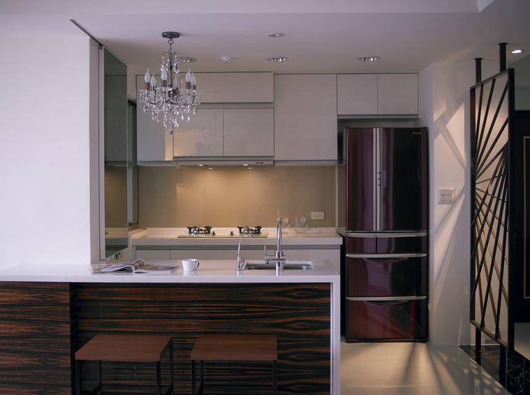 现代家居厨房精装效果图