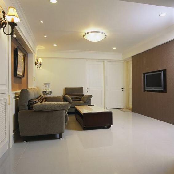 简约现代中式客厅装修图