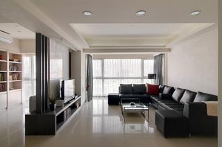 简约两室两厅家装效果图