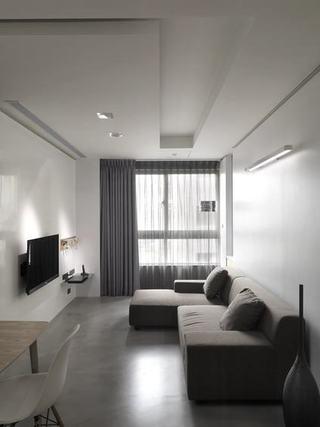 宜家酒店式 黑白灰公寓装饰设计