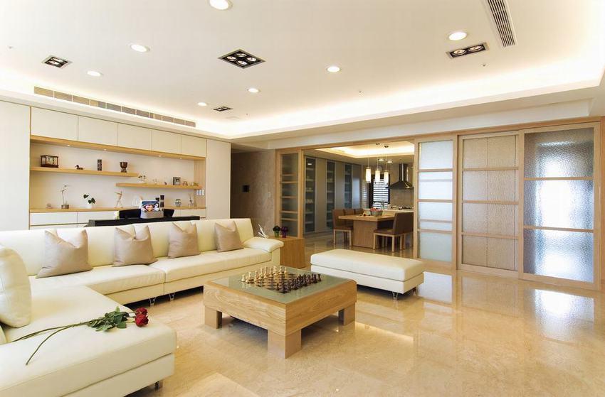 优雅简约日式风格 四室两厅装修设计