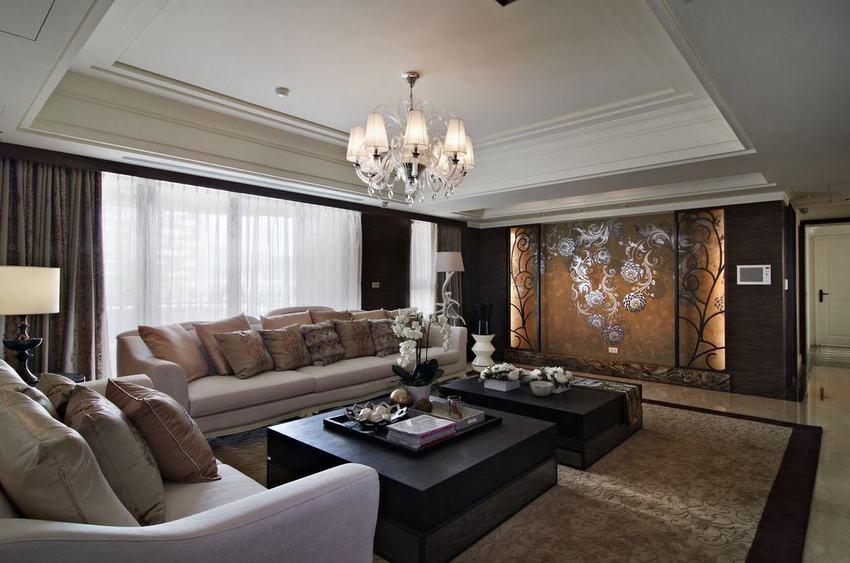 新古典风格138平三居装饰
