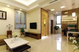 三室两厅素雅简约现代风装修