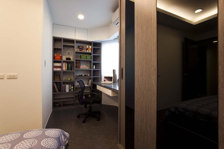 现代家装卧室书房设计