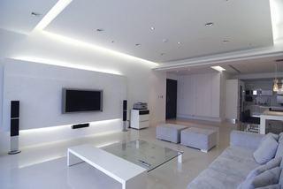 家装客厅简约电视背景墙设计