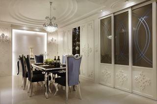 典雅新古典餐厅设计装修图