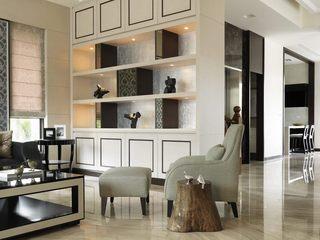 家装新古典风格收纳柜设计