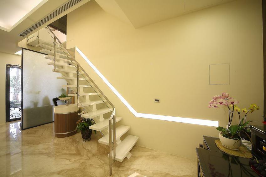 创意宜家风复式楼梯效果图