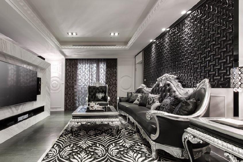 摩登欧式客厅装饰大全