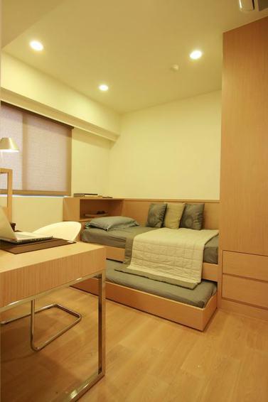 舒适日式多功能沙发床效果图