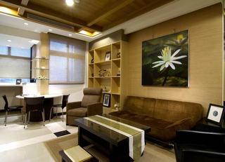 美式装修风格一居室家装设计