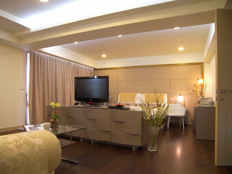 现代家装卧室电视柜设计