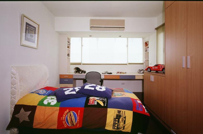 现代家居儿童房衣柜设计