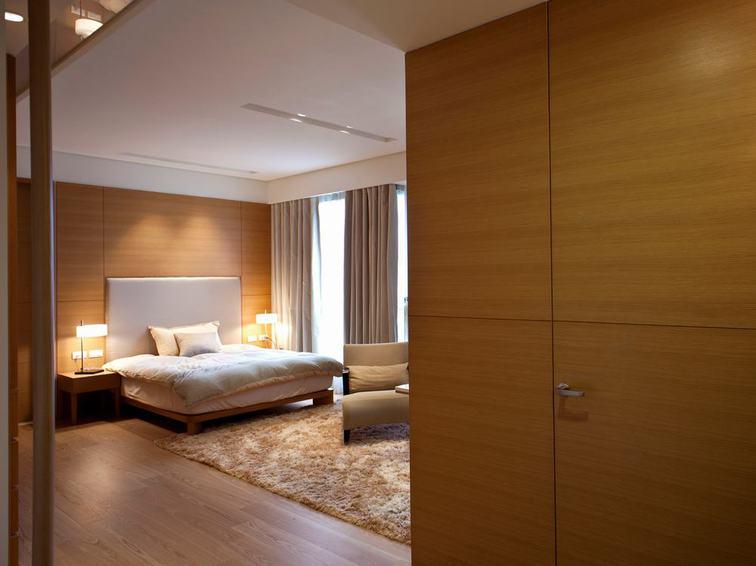 简约宜家风卧室 实木衣柜设计