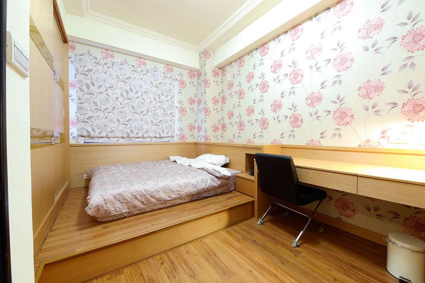 清新田园风榻榻米卧室设计