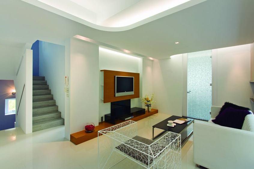 美式风格小别墅室内装修图