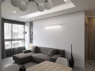 48平灰色系宜家风小户型设计