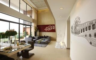 现代东南亚异域风情 别墅混搭设计图