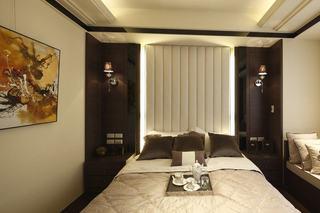 新中式床头软包背景墙设计