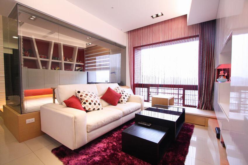 唯美浪漫现代风公寓效果图