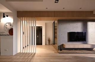 时尚现代90平公寓装修设计