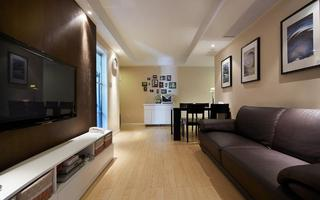 70平现代二居室内装饰鉴赏