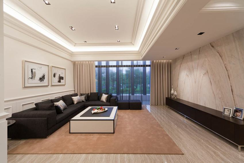 美式新古典风格别墅装饰欣赏