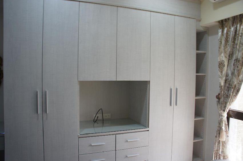 舒适简美风家居衣柜设计图