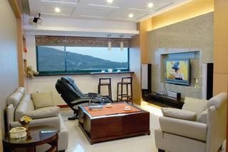 50平现代一室两厅装潢设计