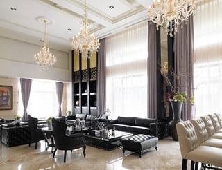 现代豪华别墅装饰案例图