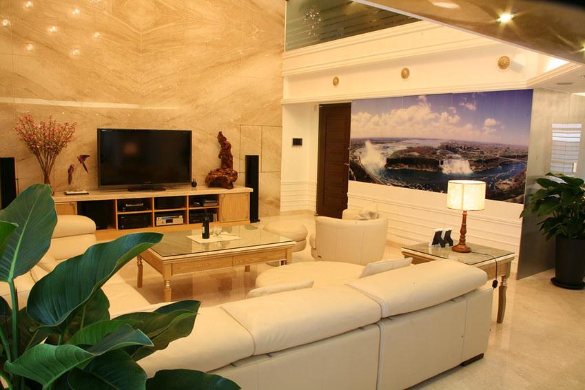 现代欧式客厅装饰设计图