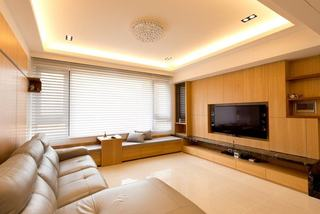 时尚原木宜家日式公寓效果图
