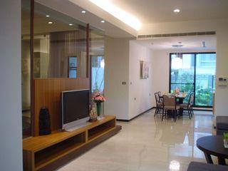 简约现代日系两室两厅效果图