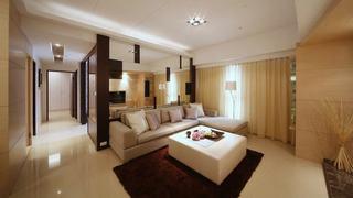 现代简约148平公寓装修设计