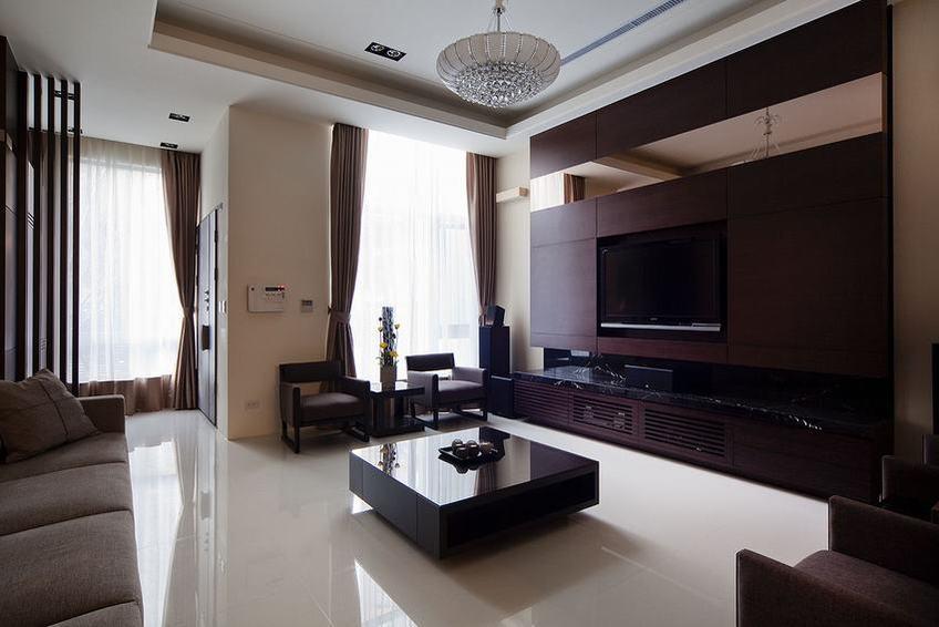 118平沉稳新中式三居室设计