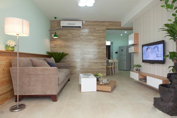 简洁北欧一居室装修设计